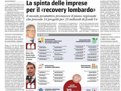 Confapi Milano parla del recovery lombardo su Il Giornale