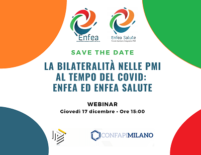 17 dicembre 2020, un webinar sulla bilateralità con ENFEA ed ENFEA Salute
