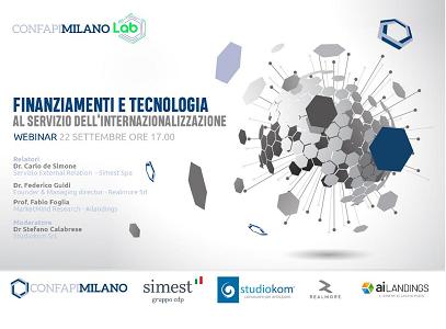 Finanziamenti e tecnologia: partecipa al nostro webinar sugli strumenti chiave per l'internazionalizzazione