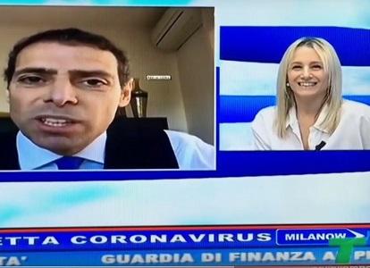 L'Avv. Spadafora in diretta a Telelombardia