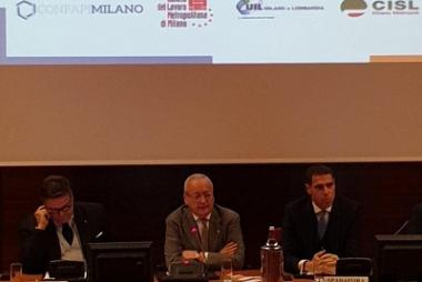 26 novembre 2019, Confapi Milano e le parti sociali insieme per promuovere la bilateralità delle PMI