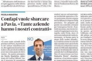 Confapi Milano vuole sbarcare a Pavia. Lo diciamo su La Provincia Pavese